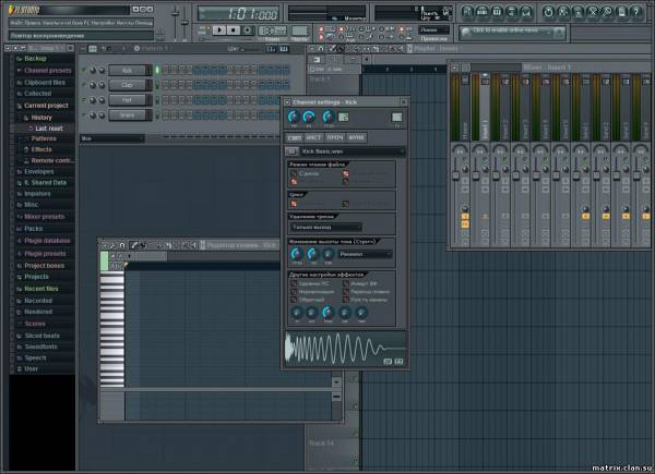 Studio / FL Studio 10.0.8 Final Producer Edition Eng + Rus + Crack.