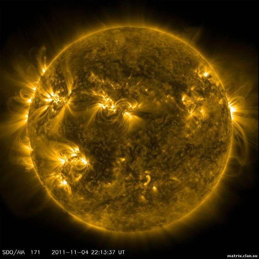 Загадки вселенной:Солнце поворачивается к Земле огромным пятном